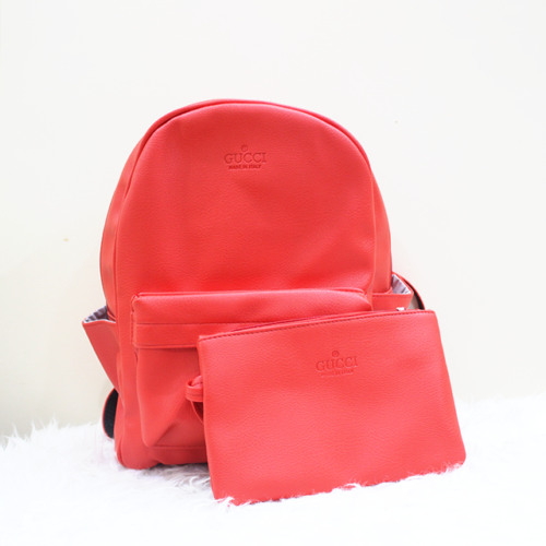 Gucci 2 in 1 backpack Red Front