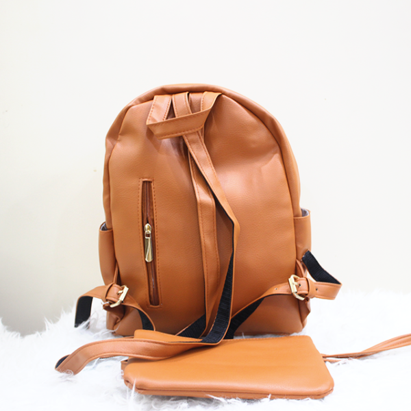 Gucci 2 in 1 backpack Brown Back
