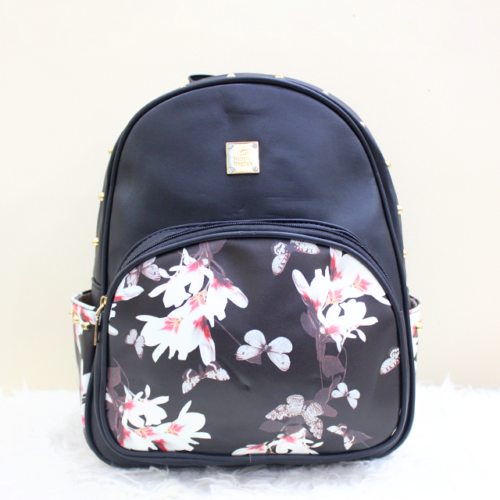 The Black Floral Front