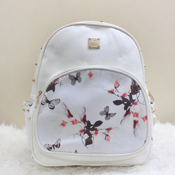 The White Floral Front