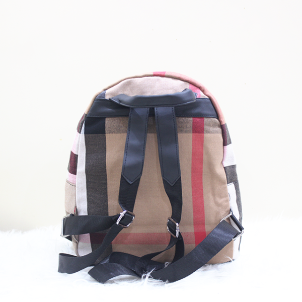 Burberry Backpack Back