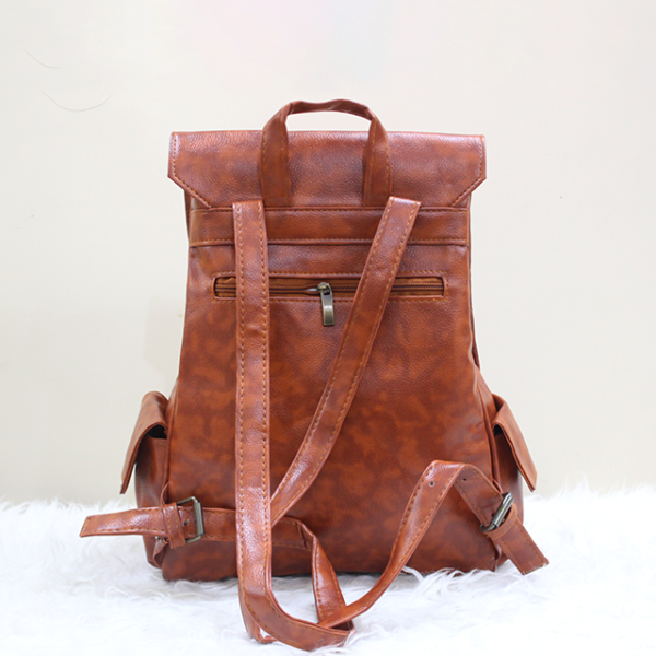 Gucci Backpack Brown Back