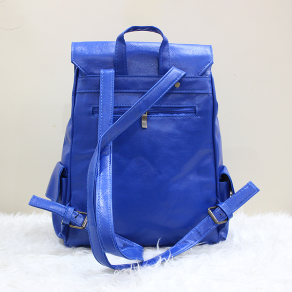 Gucci Backpack Blue Back