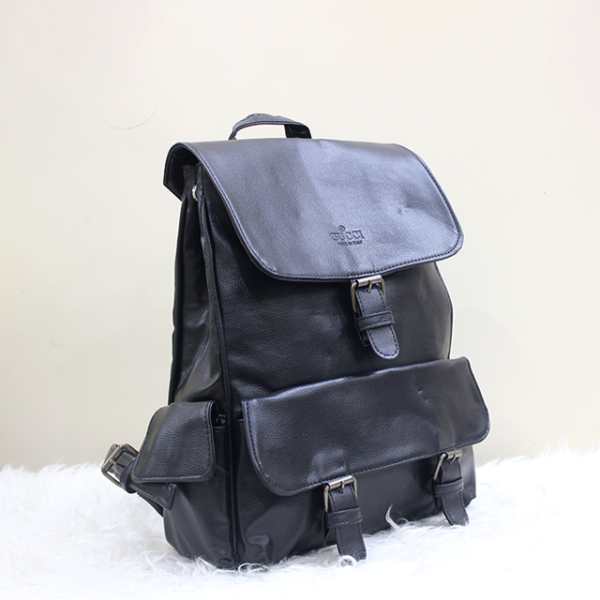 Gucci Backpack Black Front