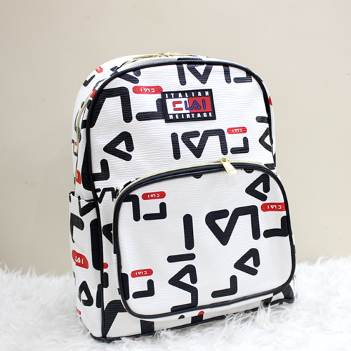 Fila Backpack White Front