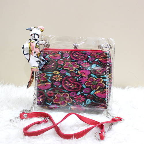 Jelly Side Purse Red