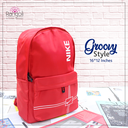 Nike Red Groovy Backpack