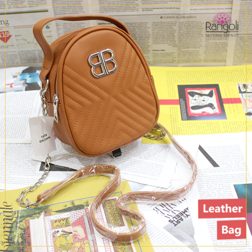 Mini Side purse Brown