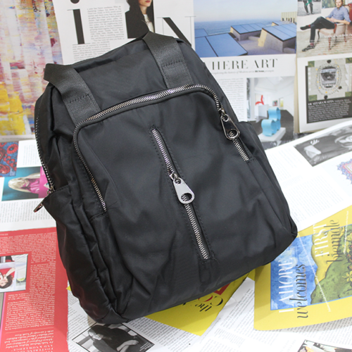 Parachute Backpack Black