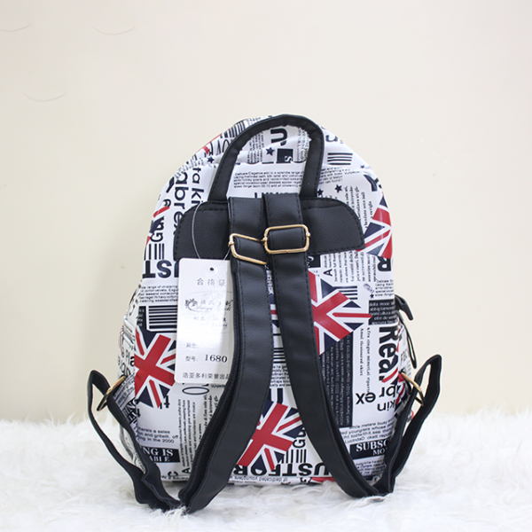 England backpack back