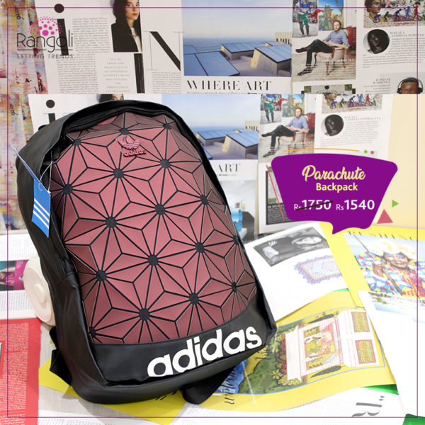 3D Addidas Backpack