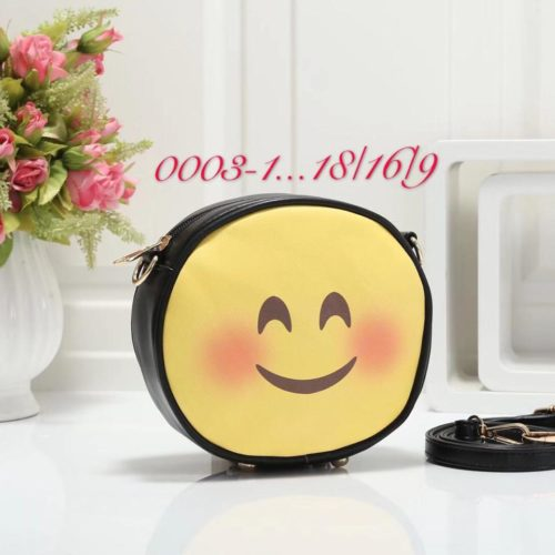 Emoji Sidepurse Black Smiling Eyes